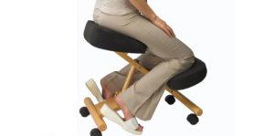 Ортопедический стул с опорой на колени